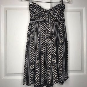 Strapless (w add on straps) Billabong mini dress